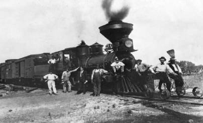 who invented railroads in the industrial revolution