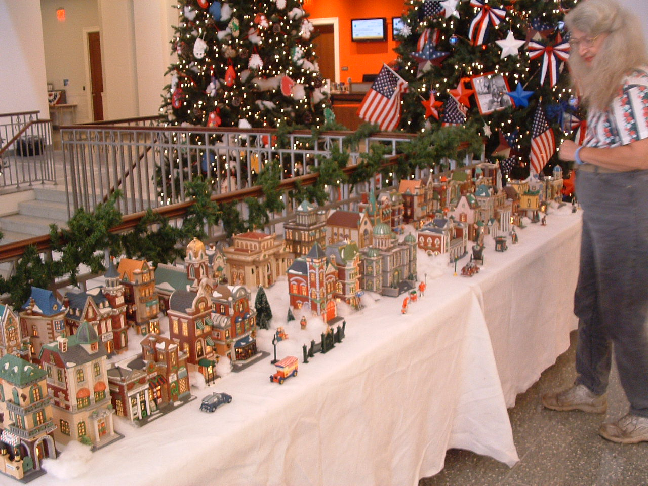 Christmas Village Display.Brackins Blog Christmas Village Display
