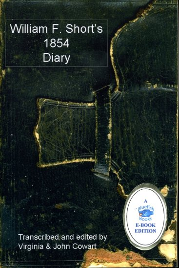 E-Cover Short's 1854 Diary