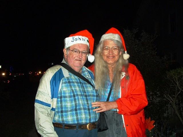 Ginny & John at Luminaries 12.18.11