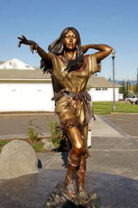 Sacajawea Statue 2